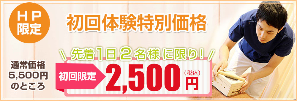 HP限定初回特別価格2500円